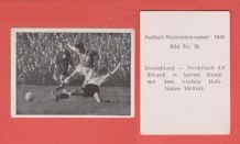 West Germany v Northern Ireland Erhardt McIlroy (26)